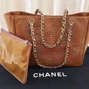 🆕 Chanel triple CC Tote Bag 👜